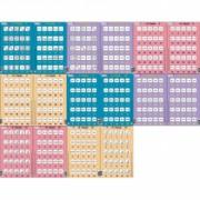 Set 16 Puzzle-uri Inmultire si Impartire 25 Piese Larsen LRP49