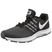 Men's Nike Run Swift Running Shoe Black/White/Dark Grey Size (UK-7) 8 M US