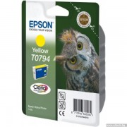 EPSON Yellow Inkjet Cartridge for Stylus Photo R1400/ P50 (C13T07944010)