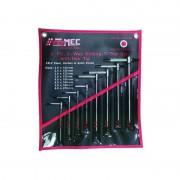 FERMEC Set 8 pezzi chiavi a T esagono 3 teste maschio FERMEC695-2060