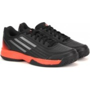 ADIDAS SONIC ATTACK K Men Tennis For Men(Black, Orange)