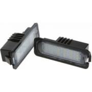 Set 2 lampi LED numar Motor Starter compatibila DACIA Logan II Facelift 2016 Clio III Megane II si III Laguna II si III Velsatis Master