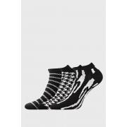 Piki 34 női zokni, 3 pár 1 csomagban fekete