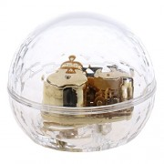 ELECTROPRIME Acrylic Clear Musical Box Music Box for Kids Xmas Gift Melody -Spirited Away