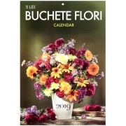 Calendar de perete - Buchete Flori 2019 - A4