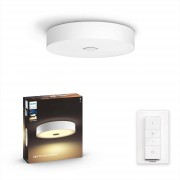 Philips Hue Fair plafondlamp - White Ambiance - wit (incl. DIM switch)