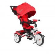 Tricicleta multifunctionala 4 in 1 Neo Eva Red Lorelli