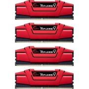 G.Skill 16 GB DDR4-RAM - 2666MHz - (F4-2666C15Q-16GVR) G.Skill Ripjaws V Kit CL15