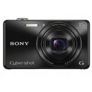 Sony Cámara Compacta SONY WX220 (Negro - 18.2 MP - ISO: 100 a 12800 - Zoom Óptico: 10x)