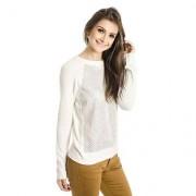 Tricot Leve Calvin Klein - Feminino-Off White