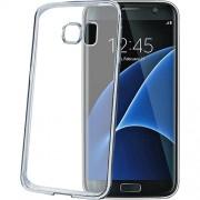 Husa Capac Spate Bumper Argintiu Samsung Galaxy S7 Edge Celly