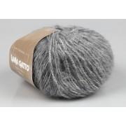 Fir de tricotat Lana Gatto, City, bumbac, acril si lana mohair - 8243, gri