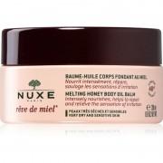 Nuxe Rêve de Miel olejový balzám na tělo pro suchou a citlivou pokožku 200 ml