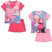 Disney Frost Set T-shirt med shorts (Ljusrosa, 8 ÅR - 128 CM)