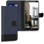 kwmobile Flipové pouzdro pro Huawei Mate 10 Lite - modrá