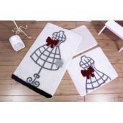 Set 3 covorase Elbise - White