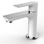 Toiletkraan / Fonteinkraantje Condor Laag Rond Chroom/Wit