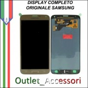 Display LCD Touch Samsung Galaxy S5 NEO G903F Originale GOLD ORO Schermo GH97-17787B