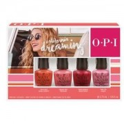 Opi california dreaming kit di 4 mini smalti
