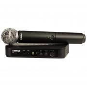 Micrófono Shure Inalambrico Calidad De Estudio BLX24 SM58