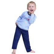 Pijama frote pentru băieți Boys albastră 128
