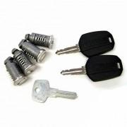 Thule 544 egykulcsos rendszer 4 db zár + 2 db kulcs