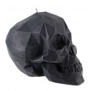 Skull gyertya - Black - YO007