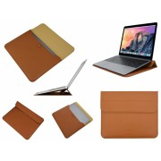 Luxe Ultra Sleeve met ergo Stand voor Apple Macbook 12 inch retina