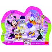 Puzzle cu rama - Minnie si Daisy (25 piese)