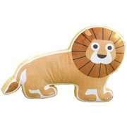 CN'Dragon Creative Animal Pillow Shape Cute Cushion Stuffed Toy Birthday Gift Throw Pillows Plush Toys (Lion)