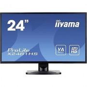 IIYAMA X2481HS-B1 LED 59.9 cm (23.6 ) EEC B 1920 x 1080 pix Full HD...