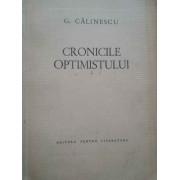 Cronicile Optimistului - G. Calinescu