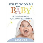 What to Name the Baby (a Treasury of Names): 15,000 Names to Choose from, Paperback/Evelyn Wells