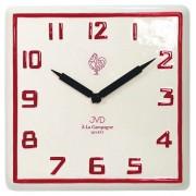 Nástěnné keramické hodiny JVD quartz TS2618.3 francouzského vzhledu
