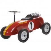 Retro Roller детска ретро състезателна кола за бутане, цвят червен
