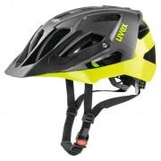 Uvex Quatro - casco bici MTB - Black/Yellow