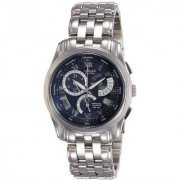 Citizen Round Dial Silver Stainless Steel Strap Chronograph Watch for Men - BL8007-55L