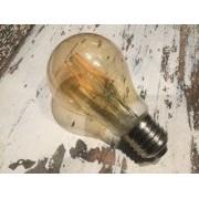 qoq Dimbare led lamp E27 4W 2200K GOLD (A60)