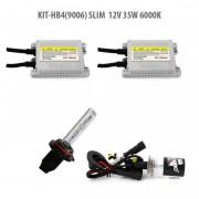 Kit Xenon HB4(9006) SLIM 12V 35W 6000K, Carguard