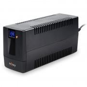 UPS nJoy Horus Plus 800, 800VA/480W, LCD tactil, 2 prize Schuko cu protectie, RJ11, PWUP-LI080H1-AZ01B (NJOY)
