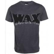 WAX grå logo t-shirt (S)