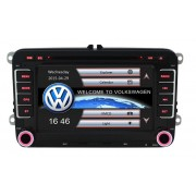 Sistem Navigatie Audio Video cu DVD Volkswagen VW Polo 2010+ + Cadou Card GPS 8Gb