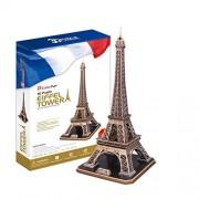 massG Introducing Cubic Fun 3D Jigsaw Puzzle Eiffel Tower Paris France Scale Model Monument Building Decorative Educational Toy