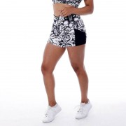 GraffitiBeasts Aura - Dames shorts van de graffiti ontwerpers - Multicolor - Size: Medium