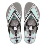 Boombuz Taiga Basic Dressed Flip Flop Slippers Dark Grey/Black