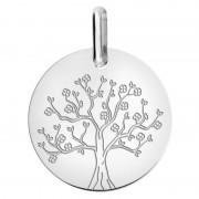 Orféva Medaille arbre de vie en fleurs