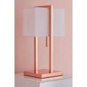 My-Furniture Lampe de table cuivrée Ellington