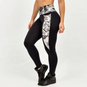 GraffitiBeasts Cost Two - Dames inverse sportlegging met graffiti design - Multicolor - Size: Large