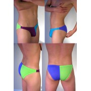 Buffedbod Custom Swimwear 4 Color Split Bikini SWB010 [Pick Color]