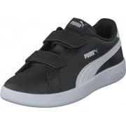 Puma Puma Smash V2 L V Ps Puma Black-puma White, Skor, Sneakers & Sportskor, Sneakers, Svart, Barn, 34